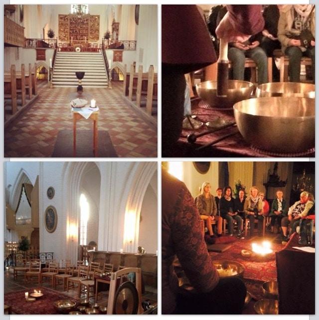 Klangindtryk i kirken