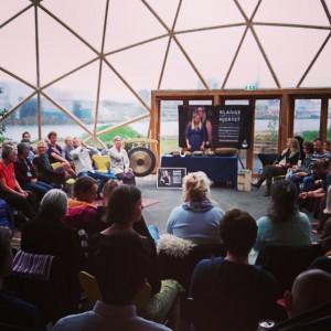 Klangkoncert i Dome of Visions i Aarhus