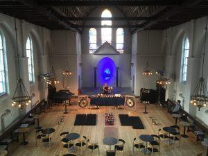 Klangbad i kirkerummet