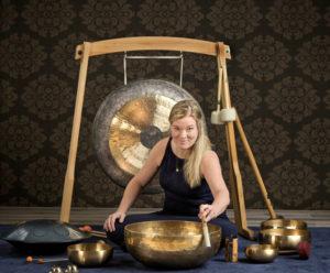 Klangskåle og gong