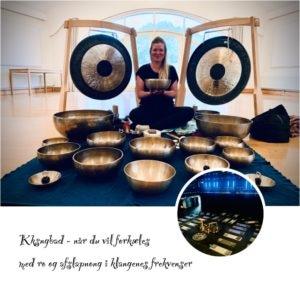 Gong og klangbad hengiver dig i en meditativ afslappet tilstand af dyb ro