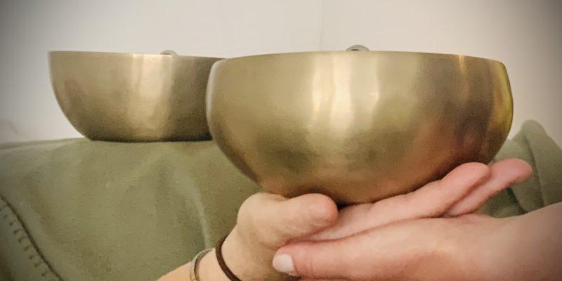 Klangskål til klangbehandling