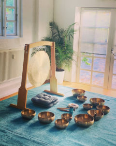 Klangskåle og gong meditation